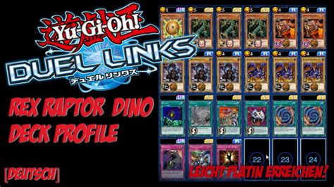 Warrior Deck Duel Links by Yu Gi Oh Duel Links Dino Deck Profile Platin Rang