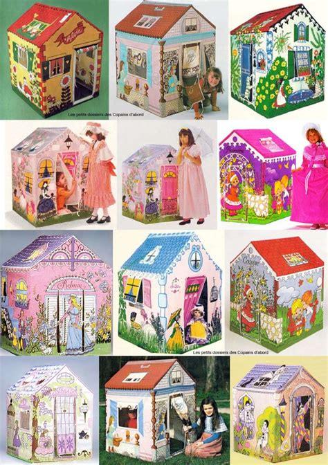 les tentes et maisons en toile pour enfants des 233 es 70 80 par nath didile les petits