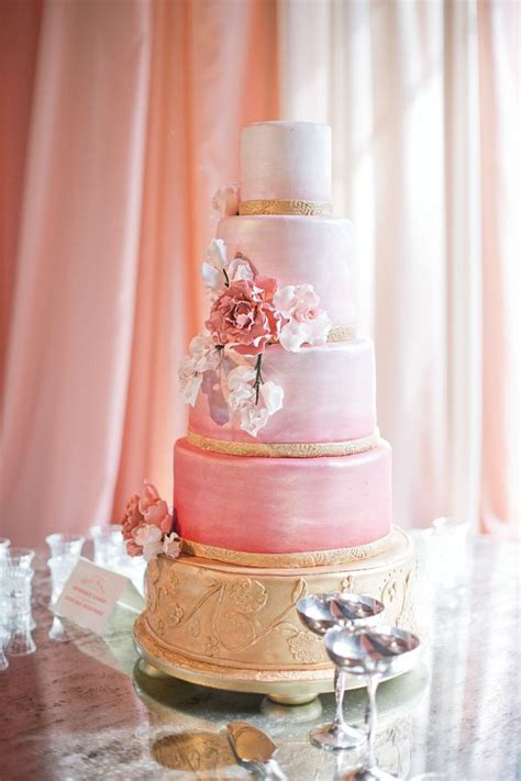 pink and gold cake pink gold cake