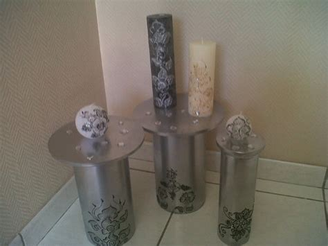 bougie de decoration fait accessoires de maison par naima bousraf sur alittlemarket