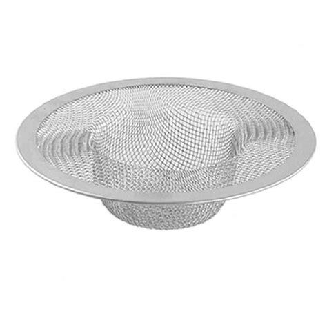 new silver kitchen basket drain garbage stopper metal mesh sink strainer ebay