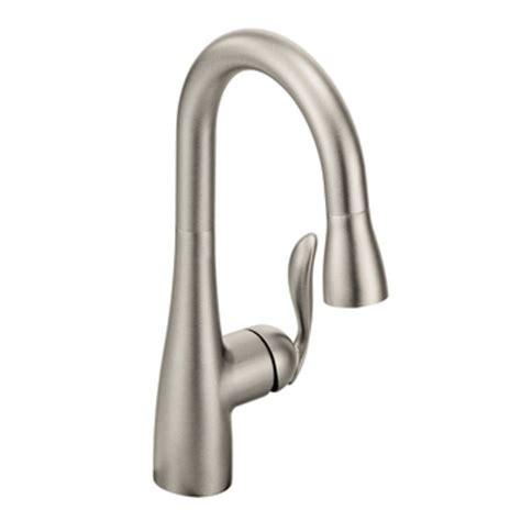 Moen Arbor Kitchen Faucet Stainless by Moen 5995csl Arbor One Handle High Arc Pulldown Bar Faucet