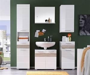 Badezimmer Unterschrank Hochglanz : badezimmer mezzo wei hochglanz g nstig kaufen ~ Markanthonyermac.com Haus und Dekorationen