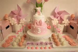 sweet table sur le th 232 me 171 224 pois blanc pour les 3 ans de ma princesse 171 happy sweet