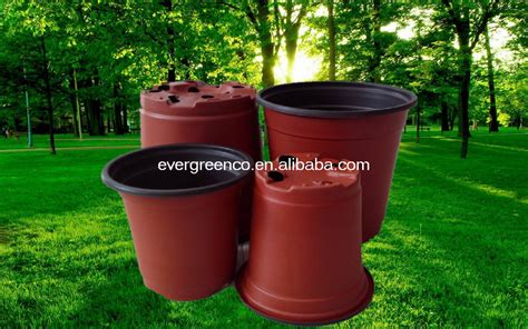 plastic plant container cheap flower pot black plastic nursery pot buy plastic nursery pot for