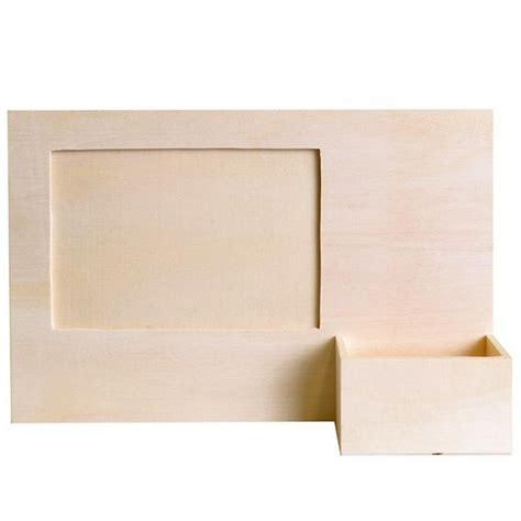 cadre photo bois avec porte t 233 l 233 phone support bois 224 d 233 corer artemio