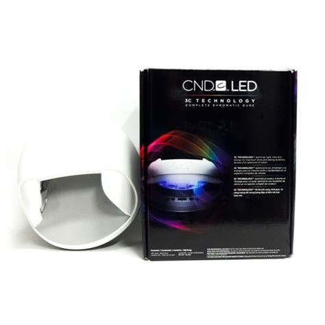 cnd led 3c technology complete chromatic cure gel l ella gray