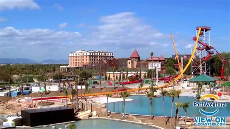 port aventura costa caribe parc aquatique construction time lapse