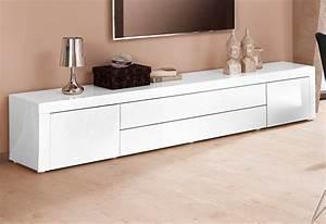 Lowboard Weiß Hochglanz 3m : tv lowboard breite 200 cm online kaufen otto ~ Markanthonyermac.com Haus und Dekorationen