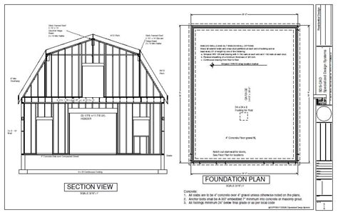 free access gambrel shed plans 12x16 wood shed