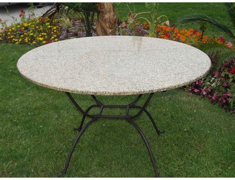 la m 233 tallerie table ronde en fer forg 233 plateau en verre
