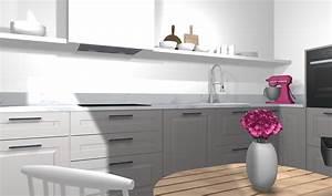Ikea Regal Küche : ikea k che planen stylische designerk che mit kleinem budget ~ Markanthonyermac.com Haus und Dekorationen