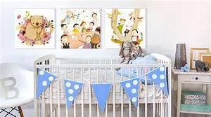 Bilder Fürs Kinderzimmer Leinwand : wandbilder f r kinderzimmer wall art wandbild shop wall ~ Markanthonyermac.com Haus und Dekorationen