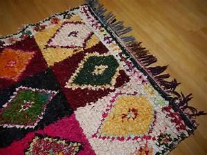 Berber Teppich Marokko : 14977 khozema 230 x 140 cm berber teppich marokko vintage textil ~ Markanthonyermac.com Haus und Dekorationen