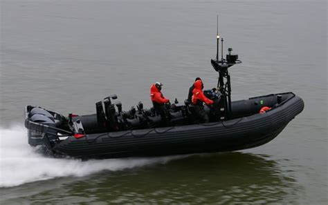 Inflatable Boats Qatar by Zodiac Milpro Attending Dimdex 2012