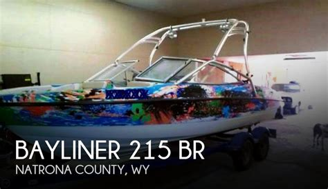 Pontoon Boats For Sale Wyoming by For Sale Used 2006 Bayliner 215 Br In Casper Wyoming
