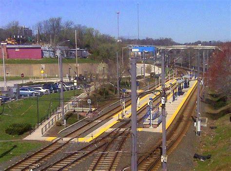 baltimore light rail stops avenue station baltimore light rail