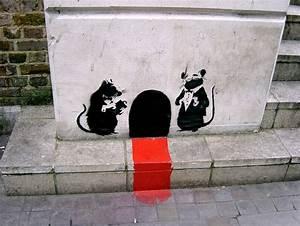 Banksy's Graffiti #1: Rats | Vostok-Zapad