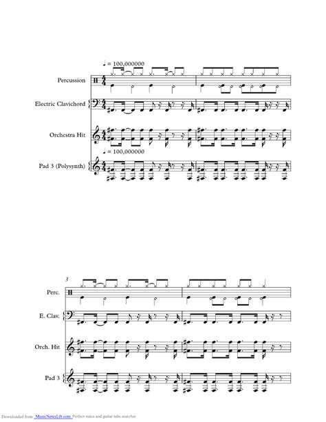 up sheet and notes by dmx musicnoteslib