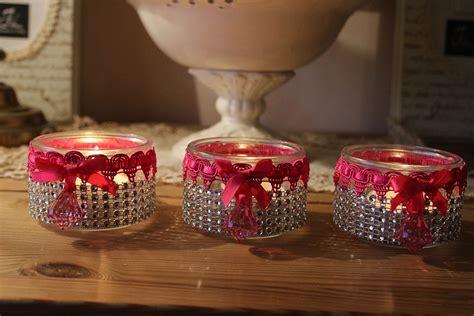 photophores girly ou comment recycler des pots de yaourt en verre id 233 es cr 233 ations