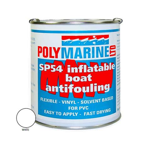 Inflatable Boat Antifouling Paint by Sp54 Pvc Antifoul White Polymarine Rib Inflatable Boat