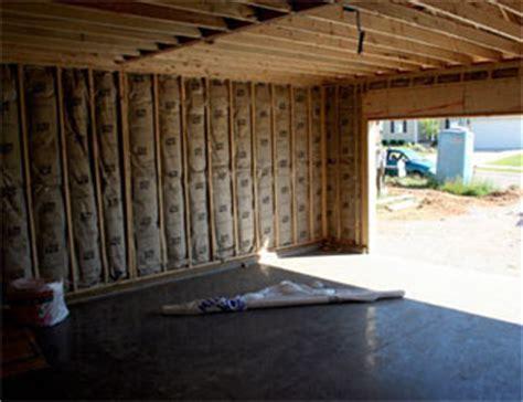 bien isoler un garage comment isoler les murs d un garage informations isolation garage