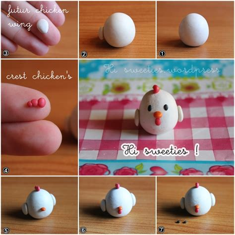 2 fimo tutorial adopt a chicken hi sweeties