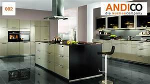 Küchen Wanduhren Design : design k chen andico die k chencompany ~ Markanthonyermac.com Haus und Dekorationen