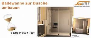 Badewanne Zur Dusche Umbauen : senhilf barrierefreies badezimmer ~ Markanthonyermac.com Haus und Dekorationen