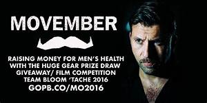 Movember 2016 charity fundraiser prize draw and film ...