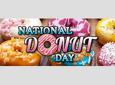 When is National Doughnut Day 2018 2019 Calendar with