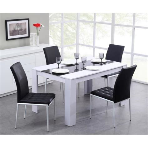 salle manger blanc laque pas collection et table salle a manger pas cher images frieslandvaart