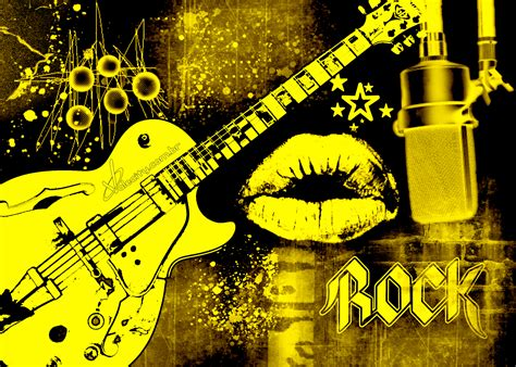 I Love Rock Music Wallpapers