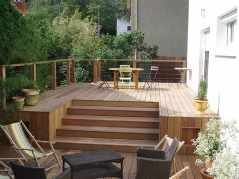 construction maison individuelle bois id 233 e terrasse
