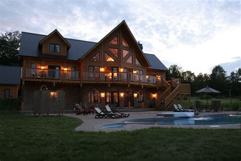 Insulated Log Cabins By Timber Block With A Busy Weekend