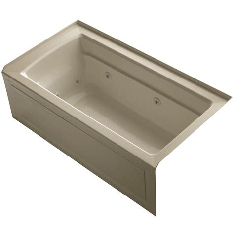 home depot bathtub drain american standard princeton 5 ft right drain bathtub in