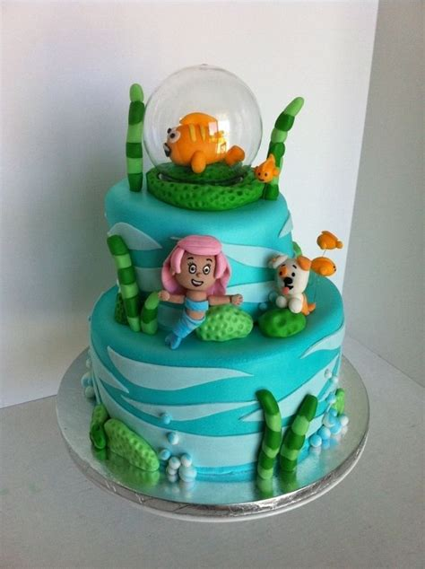 58 best images about guppies cakes on birthday cakes guppies cupcakes