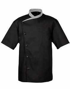 Juliuso Chef Jacket - Black Short Sleeve - Chef Jackets by ...
