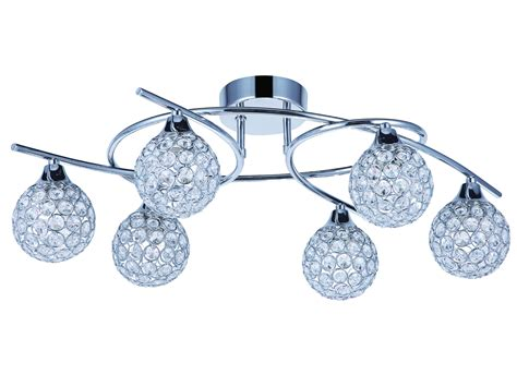 tp24 piccadilly osterley 6x3w led chrome ronde lumi 232 re plafond