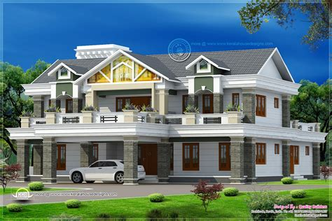 5935 Sq.feet Super Luxury Home Design