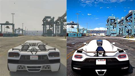 Gta 5 Xbox 360 Vs Ultra 4k 60fps Pc Graphics  2018 Redux Gameplay! Realistic Graphic Enb Mod