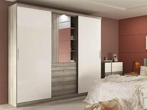 Kleiderschrank Schiebetüren Spiegel : kleiderschrank bodil mit spiegel 5 t ren 2 farben g nstig ~ Markanthonyermac.com Haus und Dekorationen