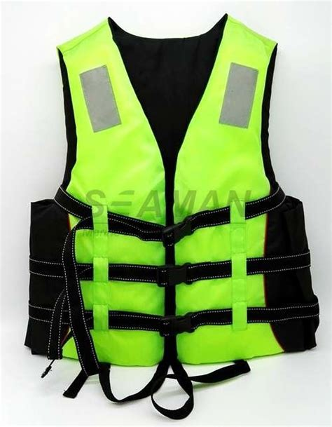Boat Life Jacket by Adult Green Water Sport Life Jacket Pfd Inherent Buoyancy