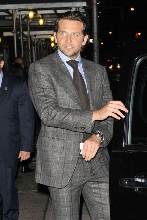 Bradley Cooper Photos Photos  Actor Bradley Cooper Stops For Photos As He Makes His Way Out Of