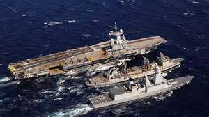 porte avions charles de gaulle le navire est arriv 233 224 bon port et s appr 234 te 224 frapper ma