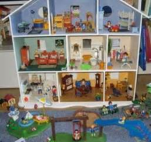 maison playmobil rangement chambre enfant playmobil et bricolage