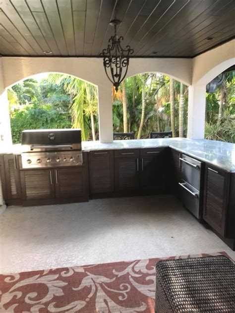 outdoor kitchen cabinet installation in melbourne fl by