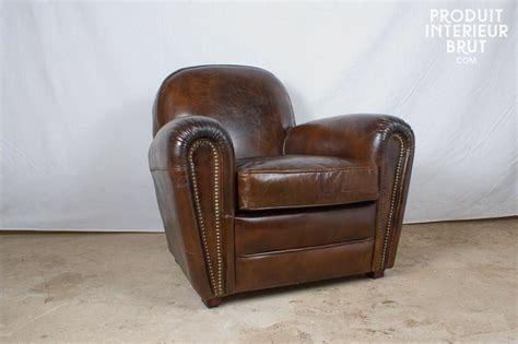 photos canap 233 club cuir vieilli