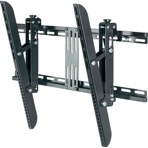 support mural tv speaka professional 989273 81 3 cm 32 quot 160 0 cm 63 quot inclinable noir