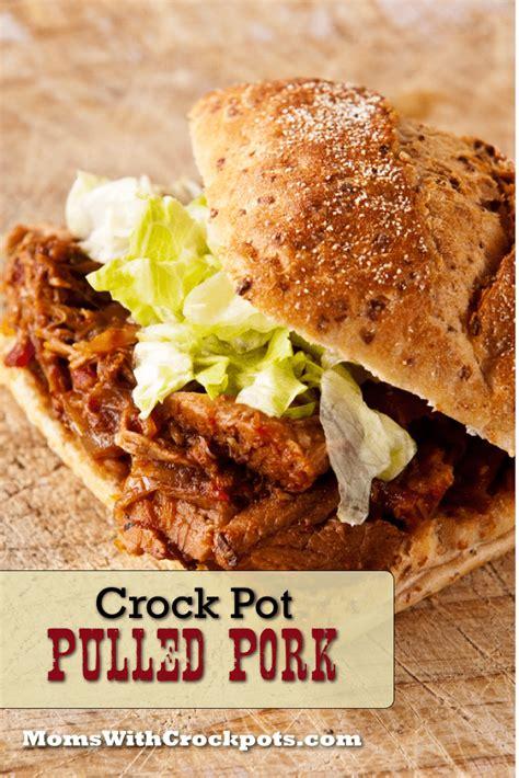 crock pot pulled pork with crockpots